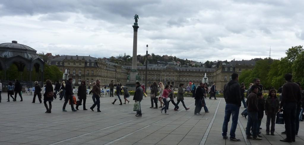 Schlossplatz Palace Square
