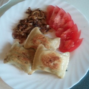 Maultaschen Dinner