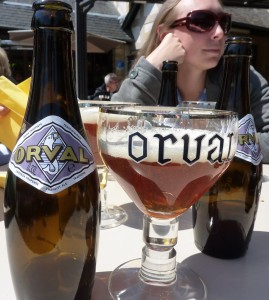 Orval Beer in Chalice