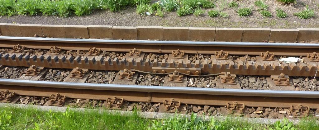 Zahnradbahn rack