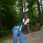 Alissa on Rope Swing
