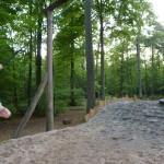 James on Rope Swing