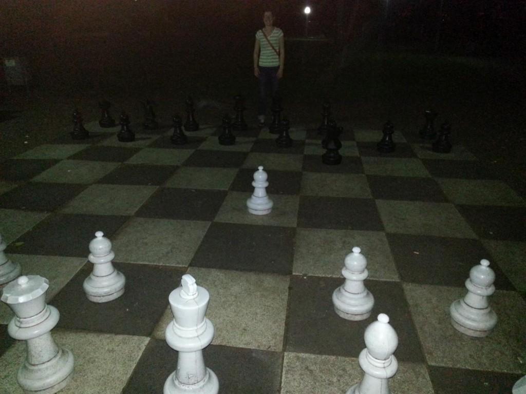 Gigantic Chessboard