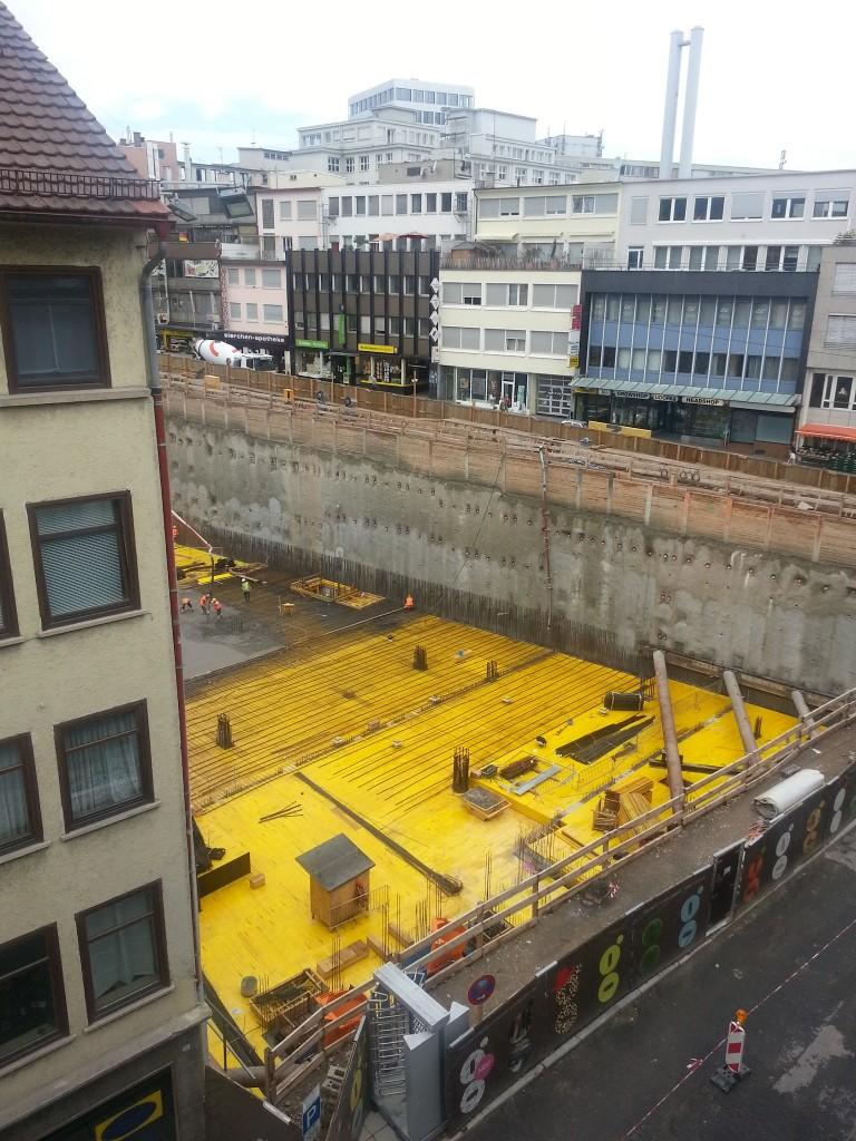 Second Floor Construction