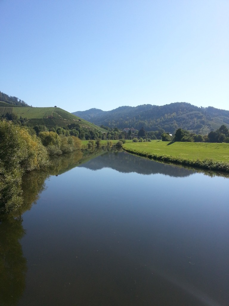View from Bridge in Gengenbach