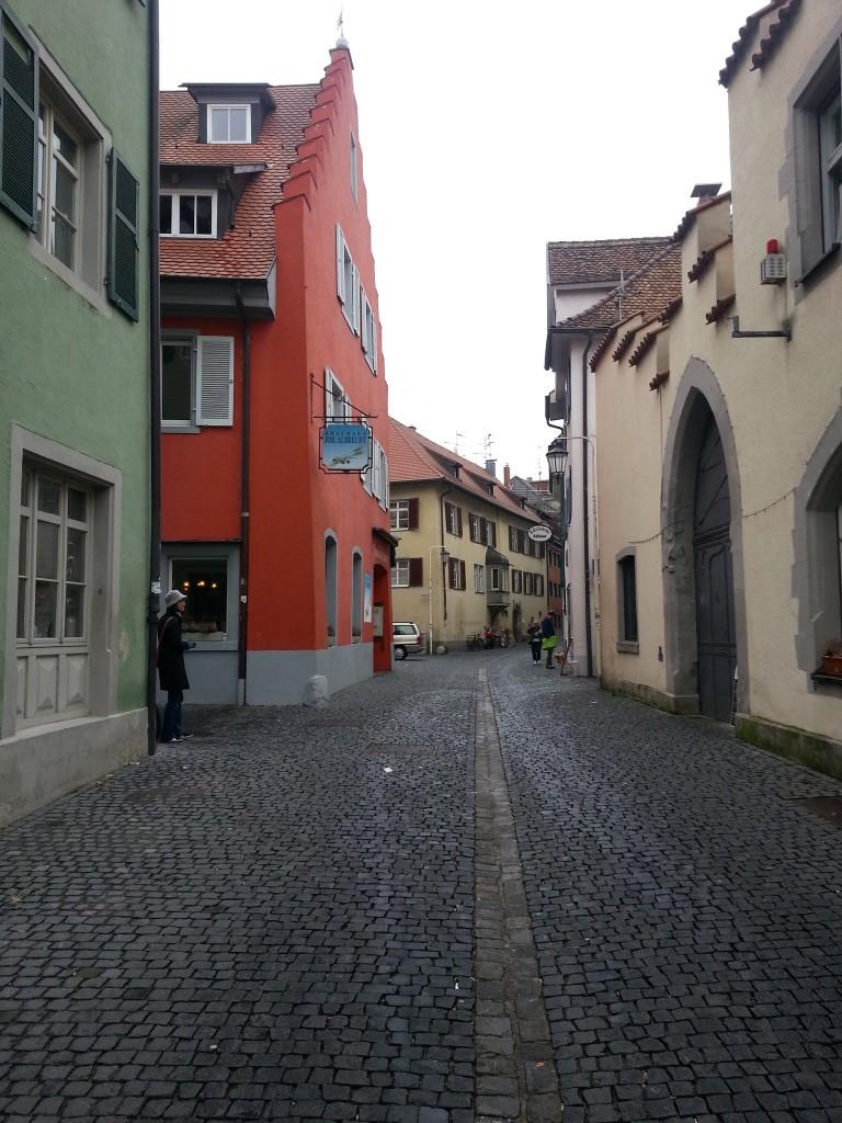 Street near Joh. Albrecht brewery