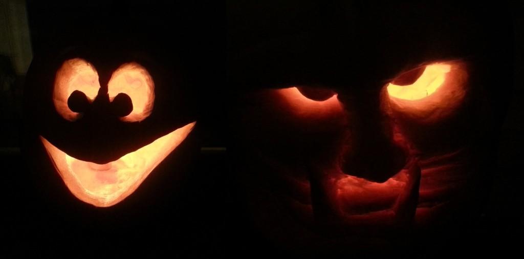 McPumpkin at Night