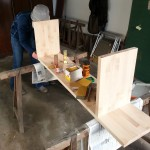 Making the bench