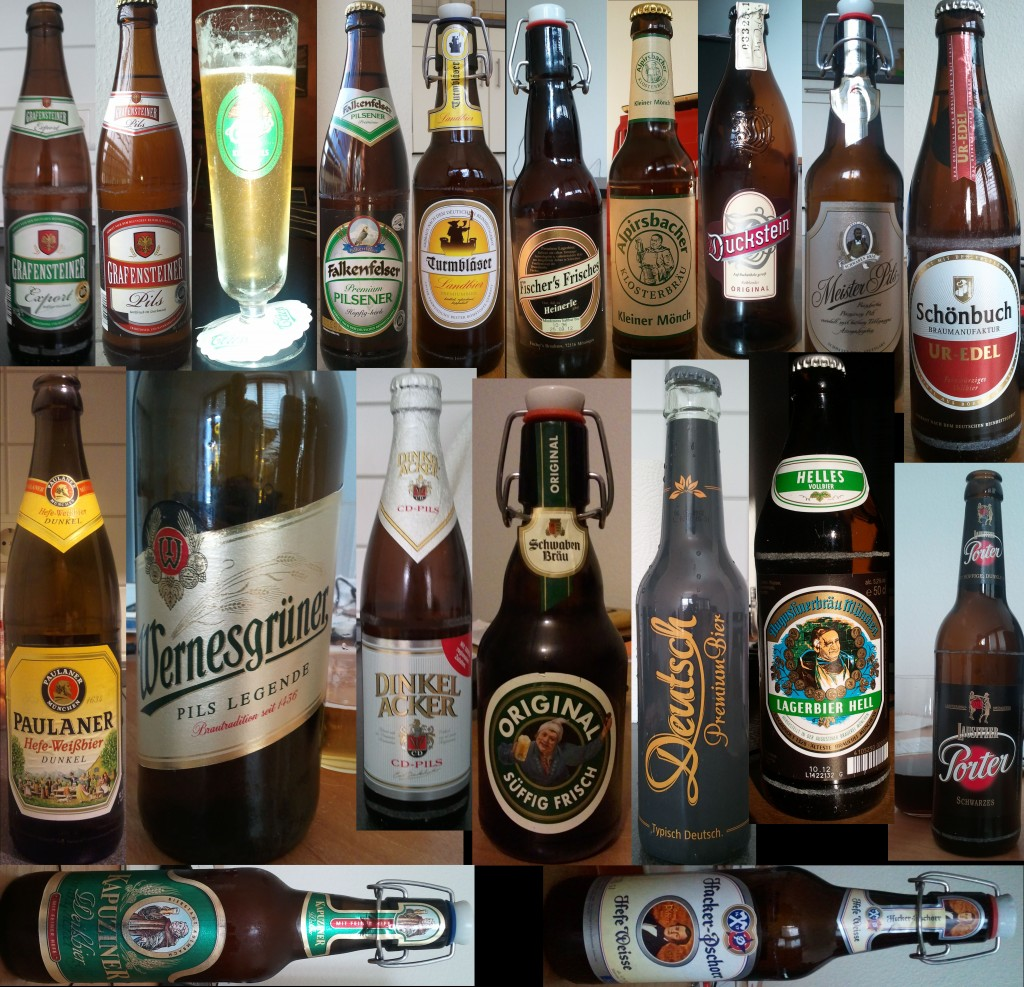 June 2012 Beer Collage