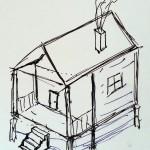 Joerg Gingerbread House Plans