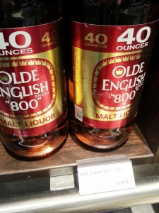 "Old English ""800"" Malt Liquor"
